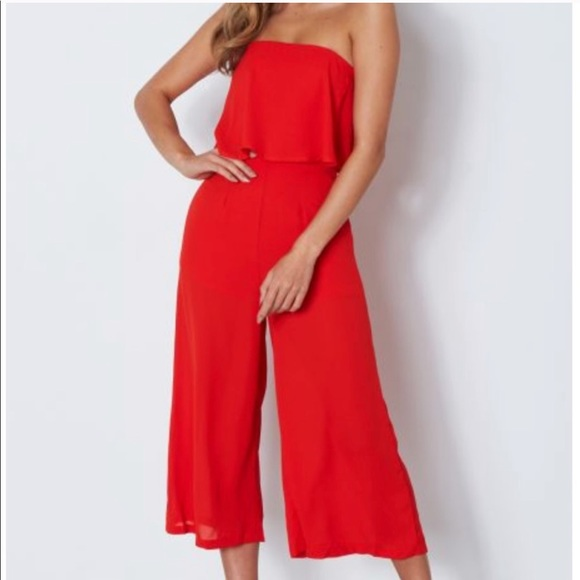 Whitefox Pants - Whitefox Dania red Jumpsuit